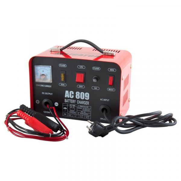 ALLIGATOR AC809 Зарядний пристрій АКБ 12/24В 20А