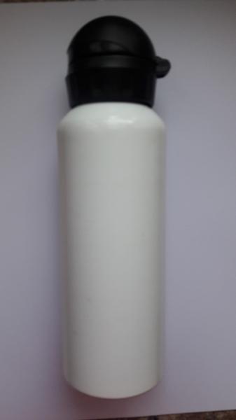 Фляга алюминиевая (пищевая) 0,5 л. Белая