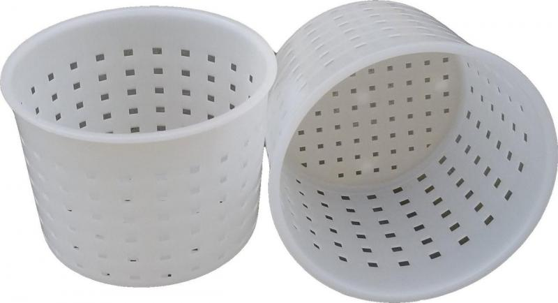 Форма для приготовления сыра сулугуни 0,35 литра Ø95 мм пластиковая (ЧП КВВ)