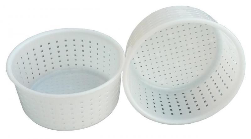 Форма для приготовления сыра сулугуни 0,75 литра Ø145 мм пластиковая (ЧП КВВ)