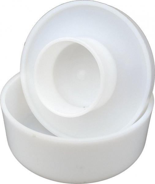 Форма для твёрдого сыра с поршнем Ø220 мм на 2,3 кг пластиковая (ЧП КВВ)