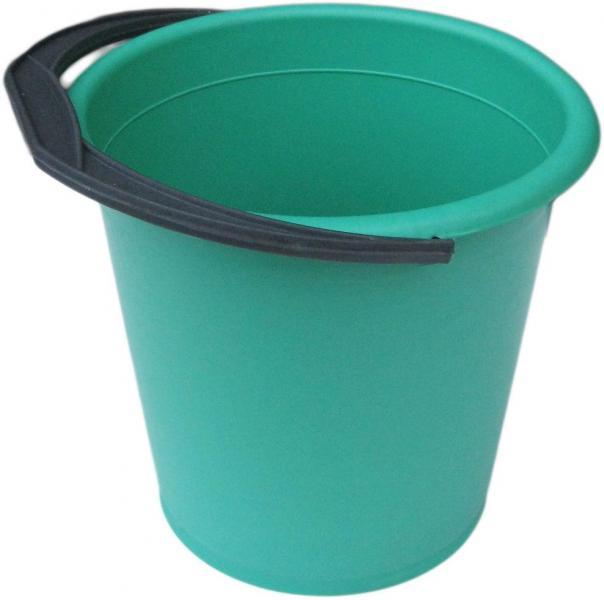 Ведро полиэтиленовое 10 литров цветное хозяйственное (ХАРПЛАСТМАСС)