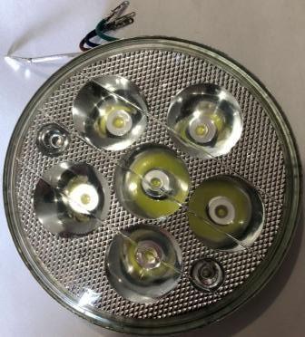Вставка в фару LED круглая DELTA/АЛЬФА