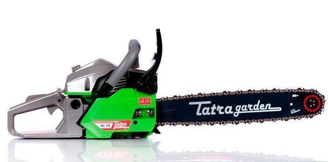 Бензопила Tatra Garden 4500 2 шины 2 цепи + фильтр