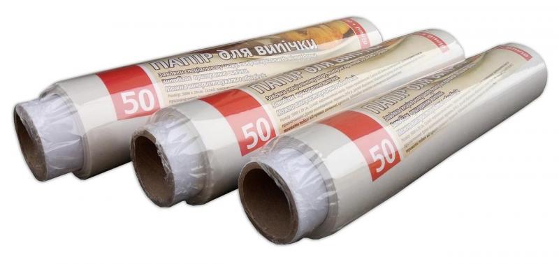 Бумага для выпекания белая Vivat 50м