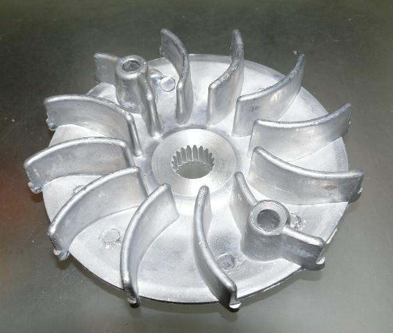 Крыльчатка вариатора аллюм GY6-125