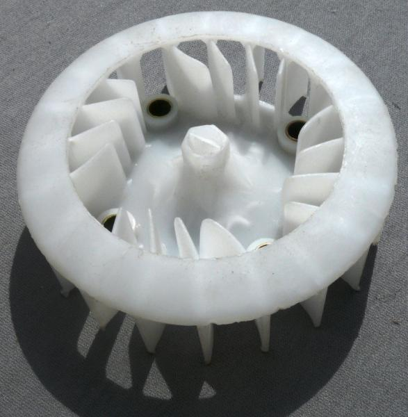 Крыльчатка генератора пластмассовая GY6-150