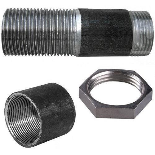 Сгон стальной 40 мм в сборе