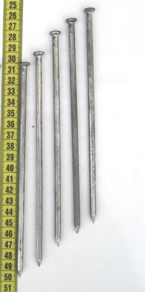 Гвоздь строительный 200×6,0 мм. ГОСТ 4028-63. Ящик 25 кг (Меттрейд)