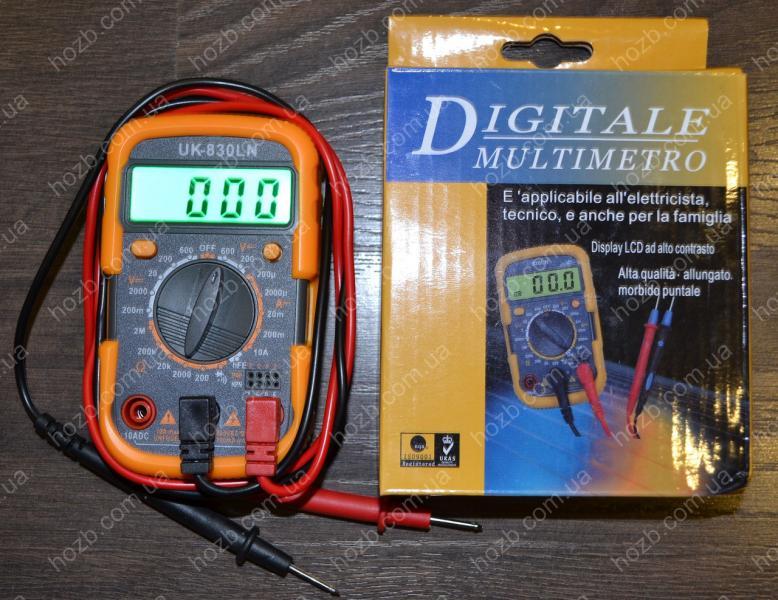 Мультиметр UK- 830 LN