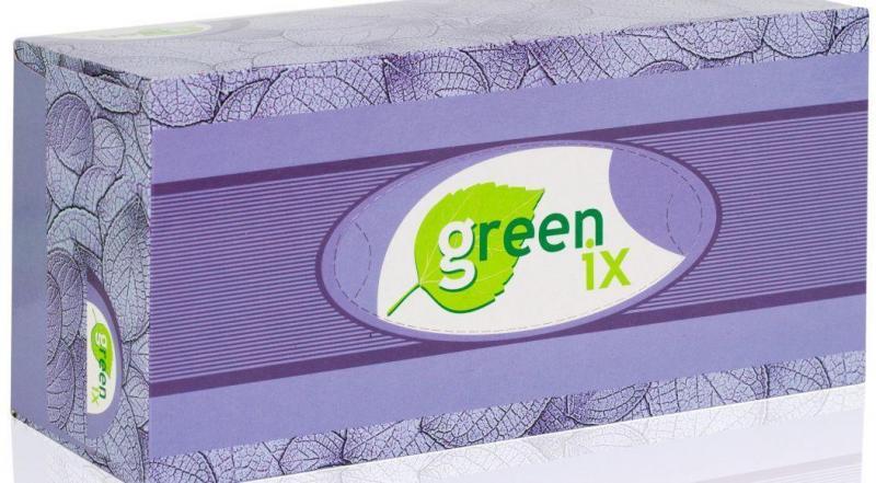 Бумажные салфетки двухслойные белые 100% целлюлоза. В упаковке 150 штук (Green ix)