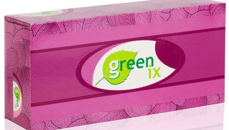 Бумажные салфетки двухслойные белые 100% целлюлоза. В упаковке 80 штук (Green ix)