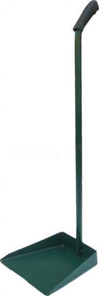 Совок для мусора металлический с длинной ручкой h=75 см (ЧП ГК)