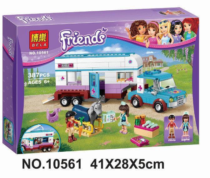 Фото Конструкторы, Конструкторы типа «Лего», Конструкторы для девочек (эльфы, friends, paradise) 10561 Конструктор Bela Friends