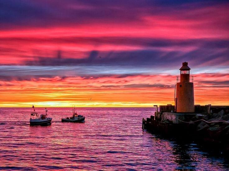 Фото Картины на холсте по номерам, Морской пейзаж KGX 21542