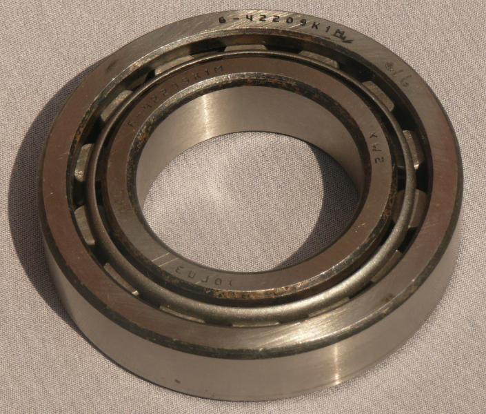 Подшипник 42209 (Кол. МТ) роликовый металл.