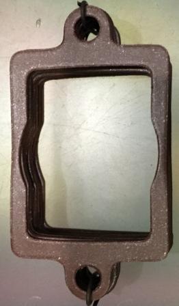Прокладка карбюратора малая(верхняя) 10шт