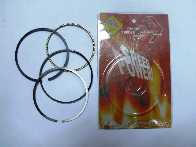 Кольца поршневые GY6-60 0,25