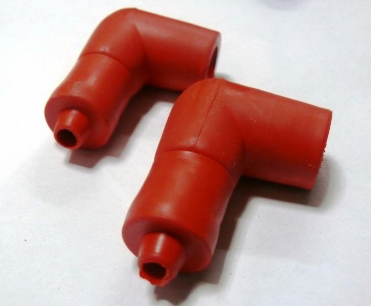 Надсвечник силиконовый 2t (красный)