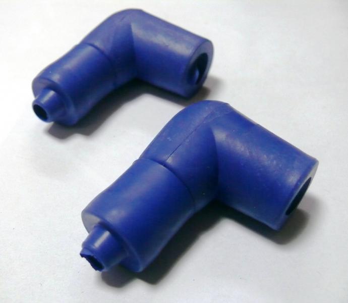 Надсвечник силиконовый 2t (синий)
