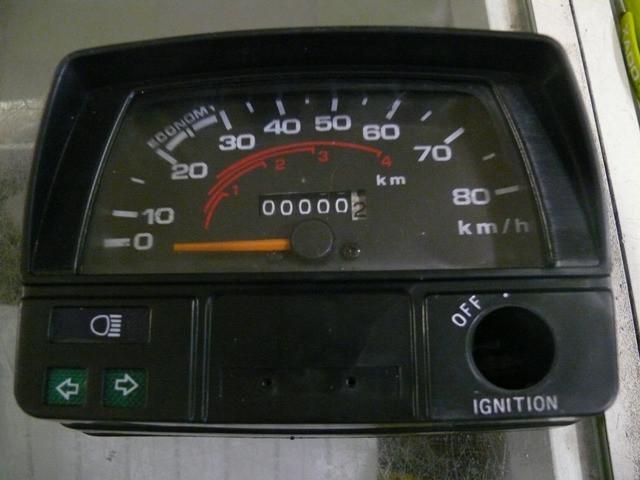 Панель приборов в сборе DELTA 80 км/час