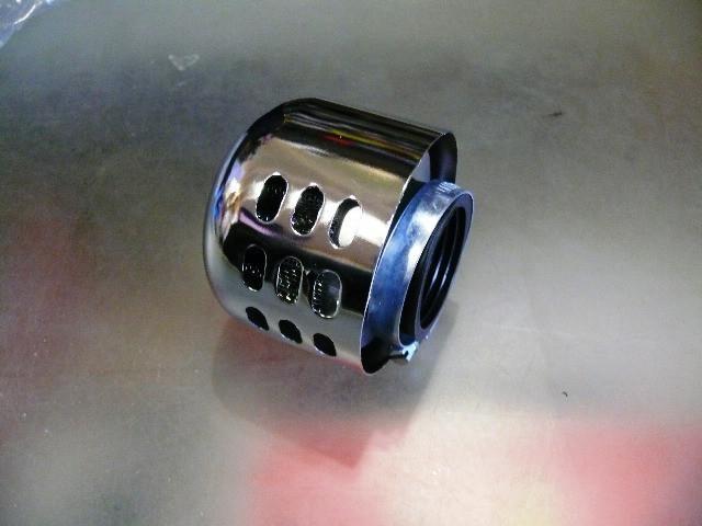 Фильтр воздушный нулевик с колпаком Ǿ38мм