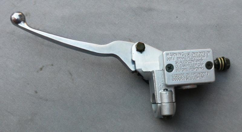 Тормозная машинка GY6 левая