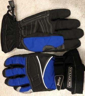 Перчатки SCOYCO (черно-синие)