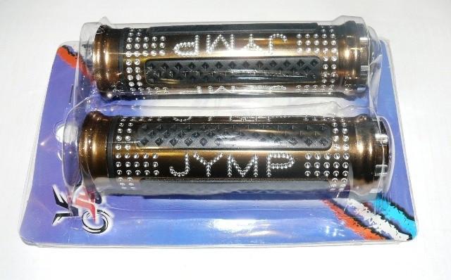 Ручки руля JYMP (пара) перламутр