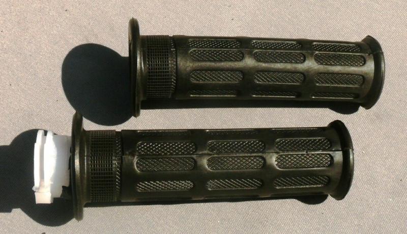 Ручки руля DELTA (c пластмассовой вставкой пара)