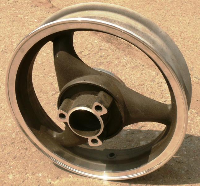 Диск литой 2.5*12 19 шлицов задний дисковый