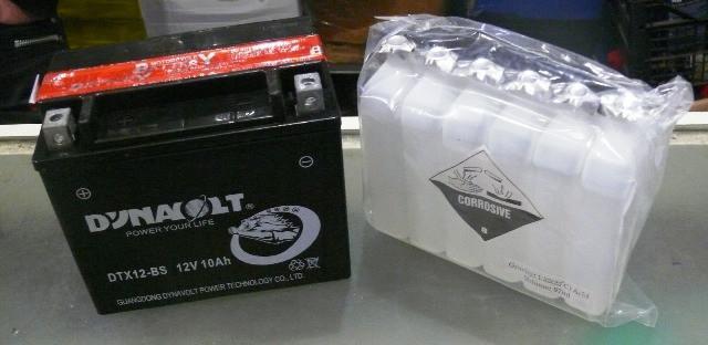 Аккамулятор 12V-10A-BS  заливной 150*130*85