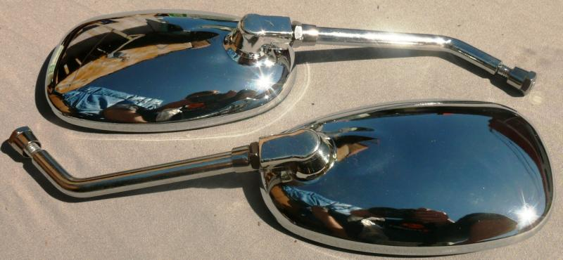 Зеркала №20 овал хром 8мм