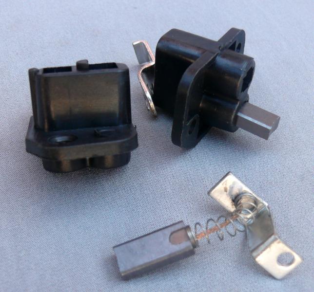 Щётки МТ  УРАЛ 12V с щеткодержателем