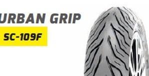 Шина 100/80-16 SC -109F  TL   DELITIRE   Urban Grip