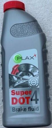 Тормозная жидкость PLAX SUPER Dot-4       0,45 L
