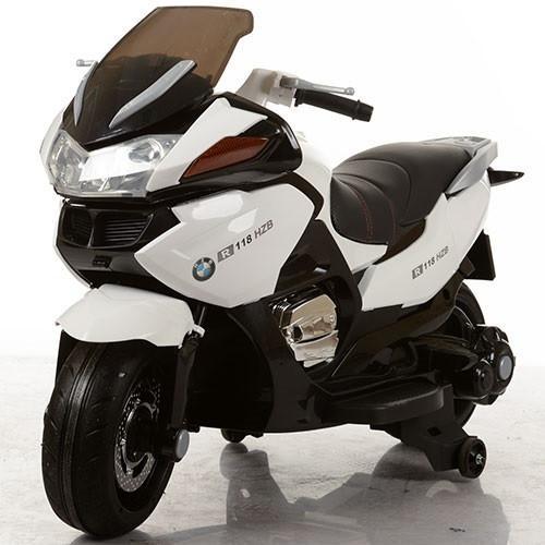 Детский электро мотоцикл M 3282EL-1 белый
