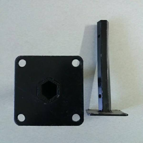 Ступицы на мотоблок 24 мм, длина 270 мм.