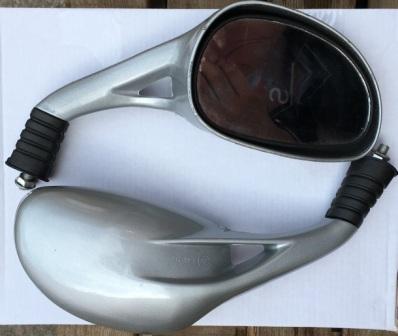 Зеркала №057 (капля) серебро