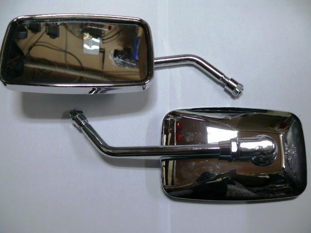 Зеркала квадратные хром 8 мм № 22
