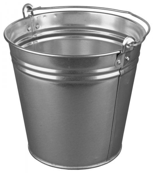 Ведро 12 литров металлическое
