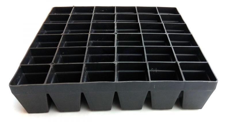Кассета для рассады (рассадник) 36 ячеек (20х20х4,5 см) (ЧП КВВ, Харьков)