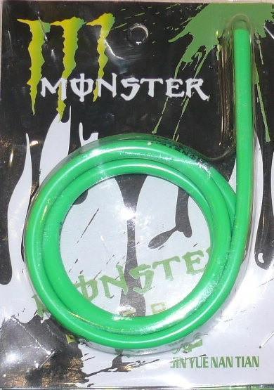 Бензошланг зелёный (MФNSTER силикон ) 1 метр