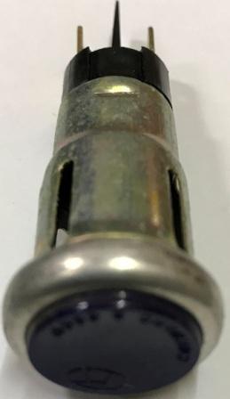 Глазок панели приборов МТ зелёный с лампочкой