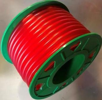 Бензошланг 4 мм резиновый силикон красный 20 метров