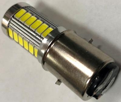 Лампа фары LED BA20D  ( кукуруза )
