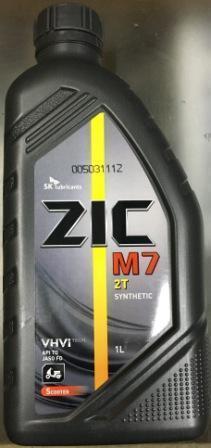 Масло  ZIC 2т синтетика ( Корея) 1л