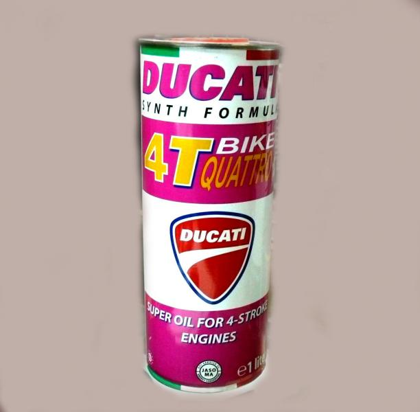 Масло DUCATI 4T QUATTRO BIKE (синт) 10W-50 1л про-во Италия