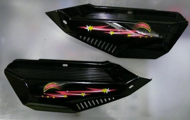 Боковая крышка Дельта (пара) черная