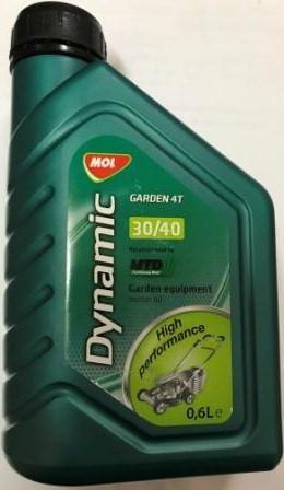Масло  Dynamic Garden 4т 30W40 газонокосилка  0,6 л